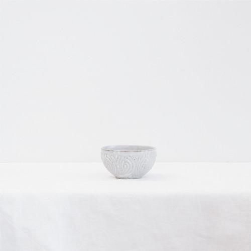 花紋ボールS 白