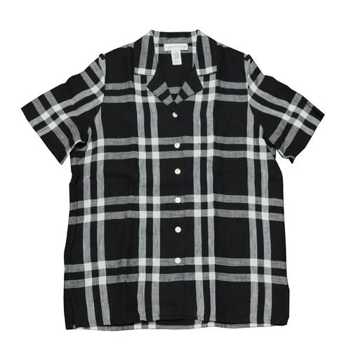 【USED】チェック柄半袖シャツ