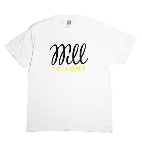 THISONE x WILL 5TH ANNIVERSARY TEE