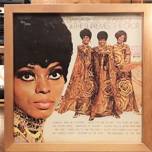 Diana Ross & The Supremes ‎– Cream Of The Crop (LP)