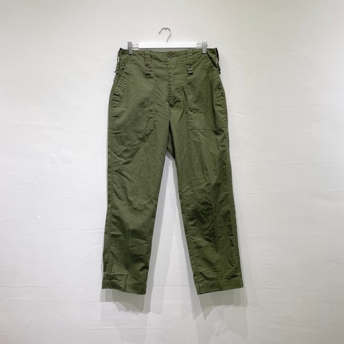 ENGLAND BRITISH ARMY fatigue trousers lightweight olive 2