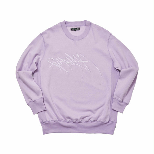 WHIMSY - RUNNERZ REJECT LOGO CREWNECK (Purple)
