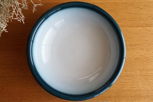 砥部焼/玉縁平鉢(大)/内白/ヨシュア工房