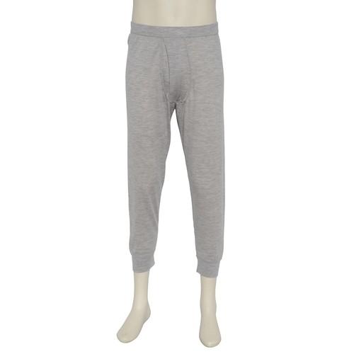 カシミヤ100%八分丈パンツ ライトグレー メンズニット 柔らかく暖かい