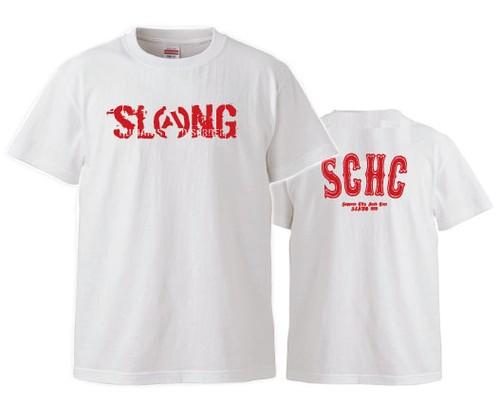 S.C.H.C LOGO : 1【T-SHIRT : 白ボディ】