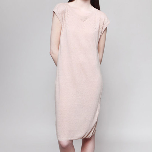 MASKA〈マスカ〉/ ニットワンピース【VERA Eyelet Structure Dress】