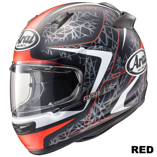 ARAI QUANTUM-J STING RED