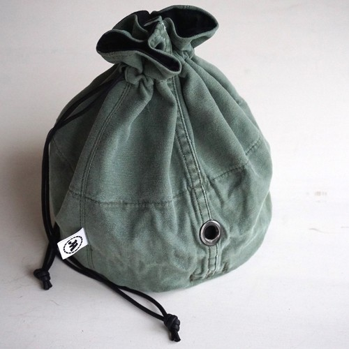 "[Magfacture] ""DRAWSTRING BAG"" US Fatigue"