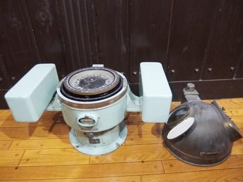 【直接お持ち帰り特価】 船舶用コンパス 羅針盤 1967年 OSAKA NUNOTANI SEIKI MAGNETIC COMPASS