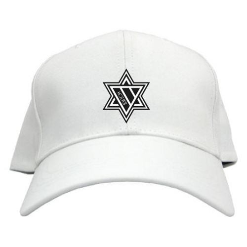 ERICH / HEXAGRAM LOGO CAP WHITE