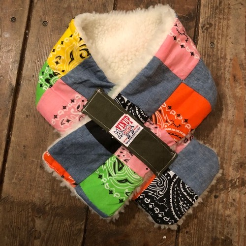 Freeze Buster Snood, Crazy Patchwork