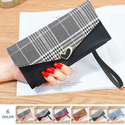 送料無料 かぶせ長財布 レディース 薄い財布 小銭入れ ロングウォレット カード入れ 薄型