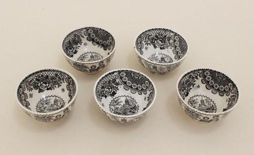 ベルギー茶碗5客セット