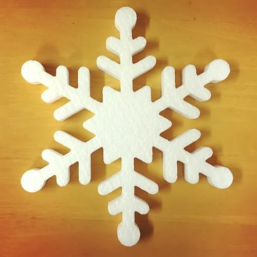 クリスマスオーナメント 雪の結晶