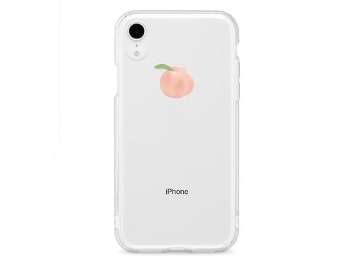 リアルもも XS XR XSmax X 8 8Plus 7 7Plus 6sPlus 6s SE 5s iPhone ケース