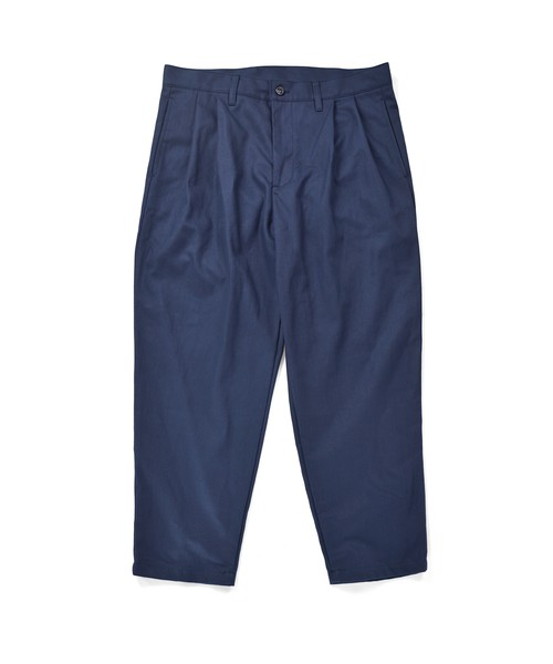 Loose 2Tuck Tapered Trouser / NAVY