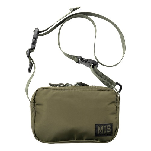 MIS1027P SHOULDER BAG PACKCLOTH_OLIVE
