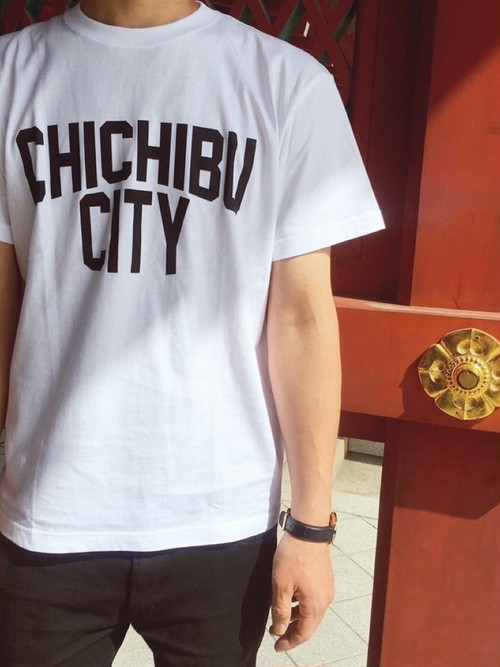 CHICHIBU CITY T-shirt White