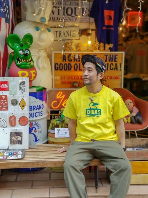 CHUMS チャムス BOOBY FACE Tシャツ