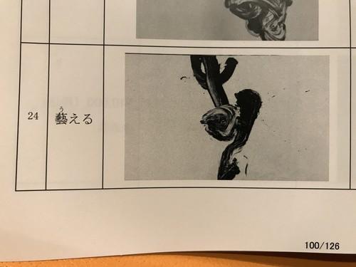 60ムツヒロキ作品「藝える」カタログ24
