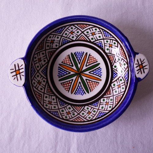 モロッコ フェズの職人のカップ dots *セカンドハンド