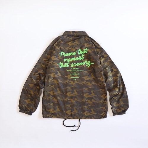 FTMTS Coach Jacket (Dark Yellow Camo)