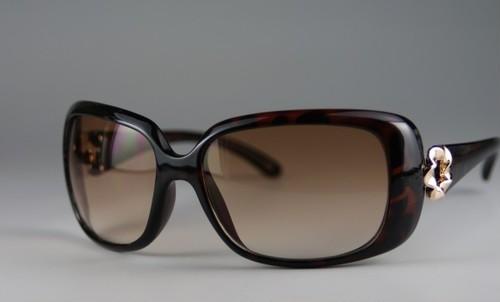 レディースファッションサングラス6033[ハードケース付き]