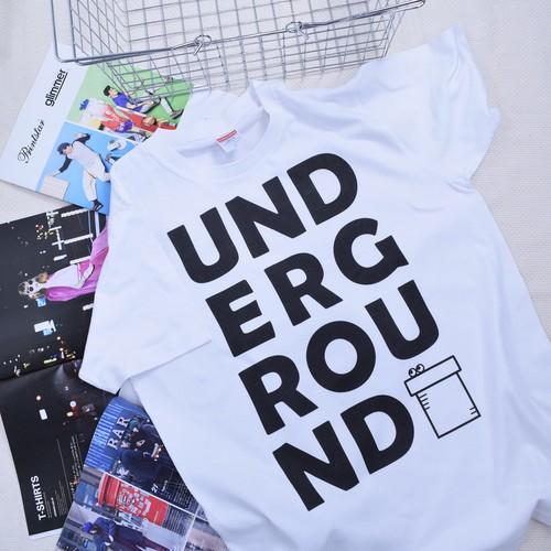 UNDERGROUND プリントTシャツ
