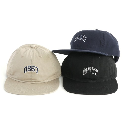 0867 / Unstructured Cap / Arch / Logo