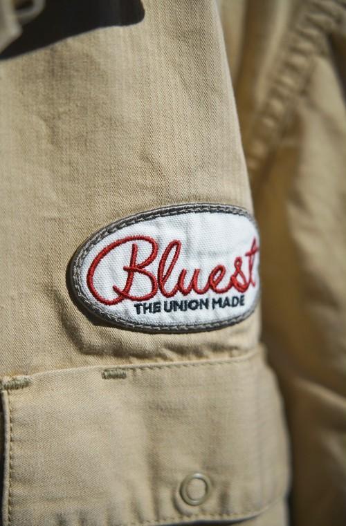 THE UNION / BLUEST WORK L/S SHIRTS(BEIGE)