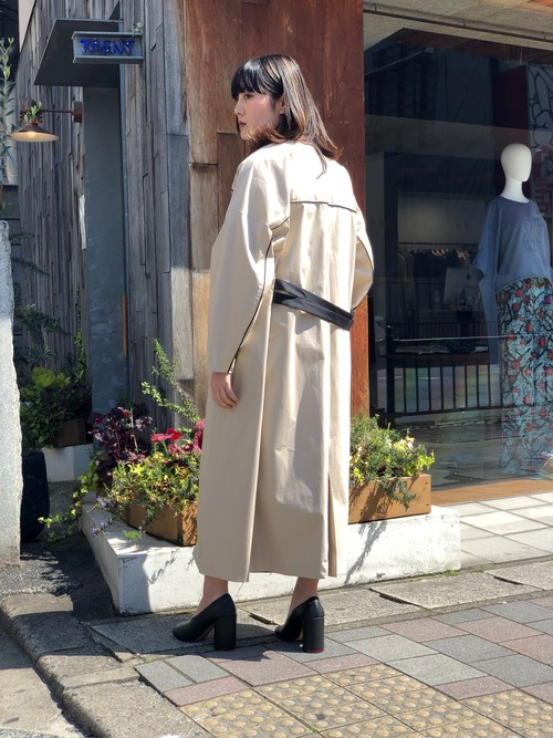 【20SS】EBONY エボニー / No collar Coat