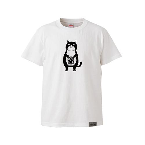 【Tシャツ】ネコおっさん ポテチ