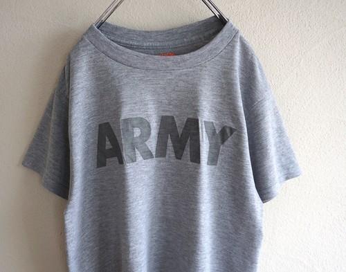 """USA製 [U.S.ARMY] """"AKWATEK""""素材 両面リフレクタープリントTシャツ 表記(M) アメリカ軍"""