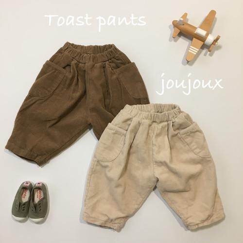 『翌朝発送』toast pants ☜ corduroy〈anggo〉