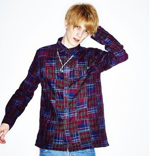 subciety PATCHWORK CHECK SHIRT L/S / サブサエティ シャツ / 10550