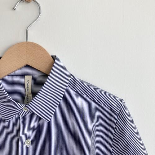 COMMUNE  STANDARD SHIRT stripe