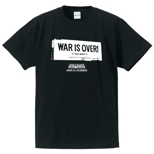 WAR IS OVER!(T-SHIRT)ブラック
