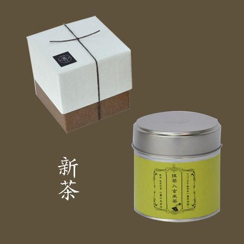抹茶入玄米茶ティーバック 小缶1本箱
