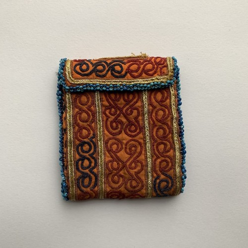 Vintage Pouch _13(アフガン ヴィンテージ 手刺繍ポーチ/財布)