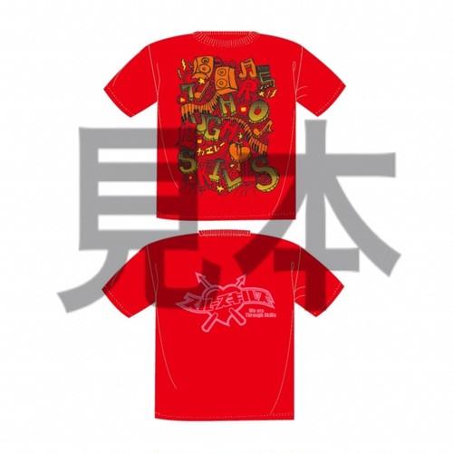 赤T-shirt