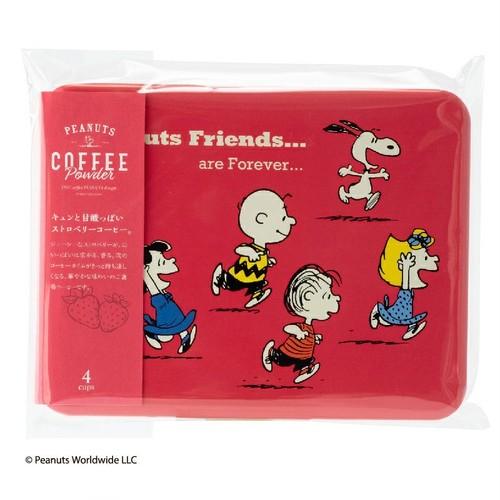 PEANUTS coffee スヌーピー コーヒー ストロベリーコーヒー