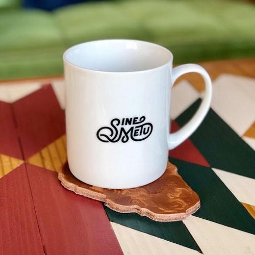 ロゴマグカップ / ホワイト | SINE METU - シネメトゥ