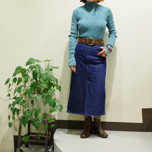 Emilio Pucci Vintage Denim Skirt / 1970's デニム スカート