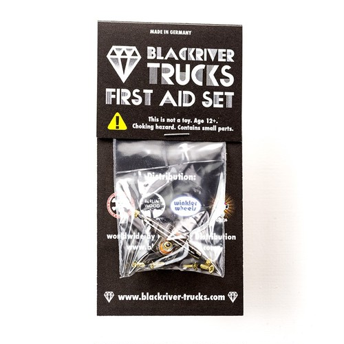 "Blackriver Trucks First Aid ""single Truck"" 32mm"