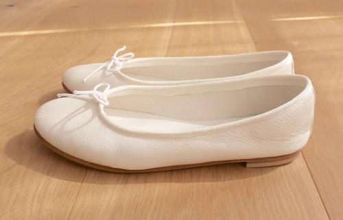 order original ballet shoes (White/フラット)