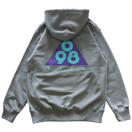 Triangle 098 P/O HOODIE / LIFEdsgn (GRAPE)