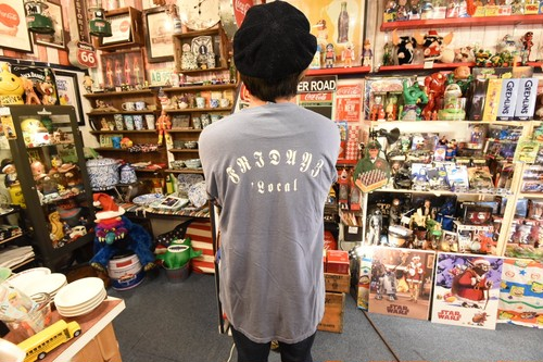 FRIDAYZ New long Sleve Tee(後染め加工)