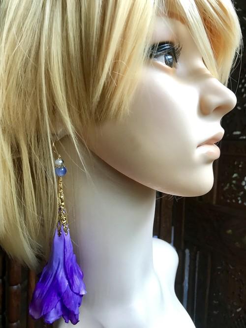 ロマピアスpurple blue-L