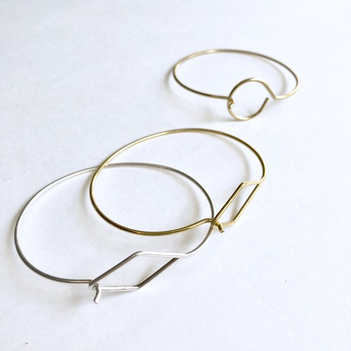 Wirr hook bangle No.807