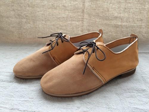 ヤギ革スウェード革靴 Saha Koyo Original